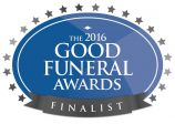 Finalist at Good Funeral Awards