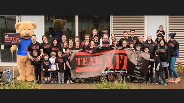 Team Afi Raises £6.5k!