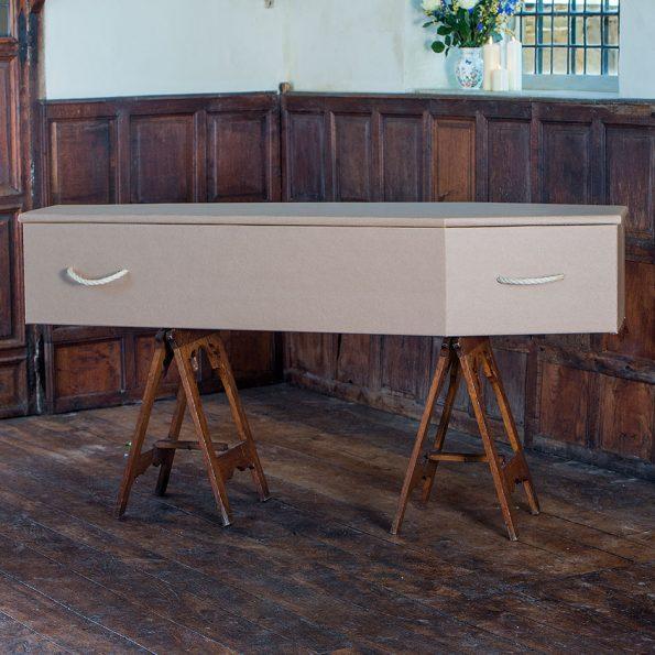 Simple Cardboard Coffin