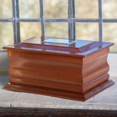Mahogany Wooden Casket