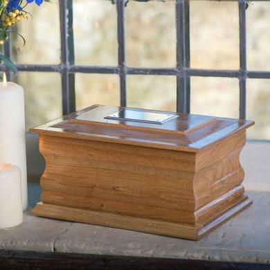 Oak Wooden Casket