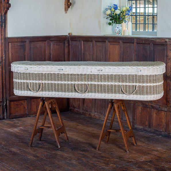 Bamboo & Seagrass Coffin