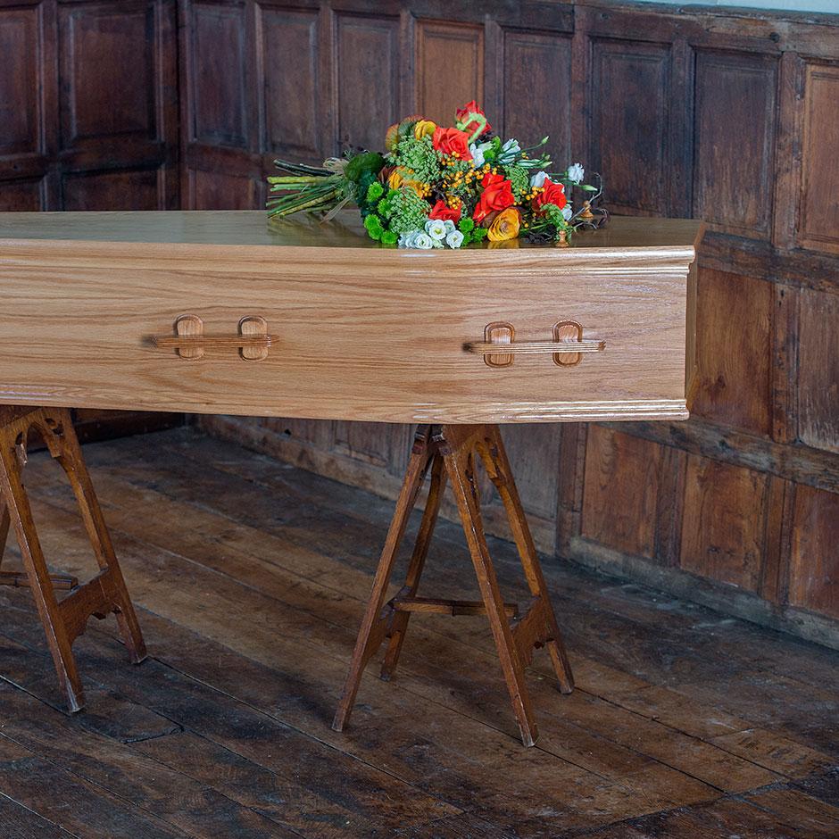 Severn Coffin | Aaron & Jonathon Bewley Funeral Directors