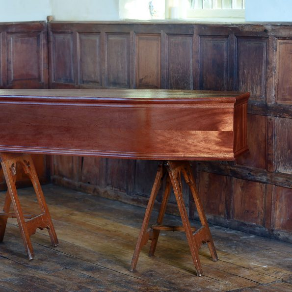 Severn Mahogany Coffin
