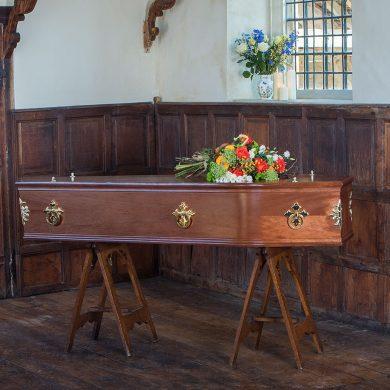 Severn Mahogany Coffin