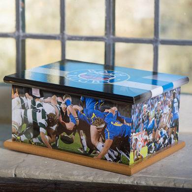 Wooden Casket – Bath Rugby